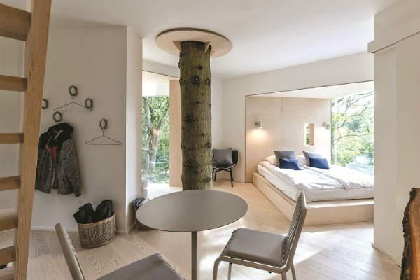 Khách sạn trên cây ở Đan Mạch